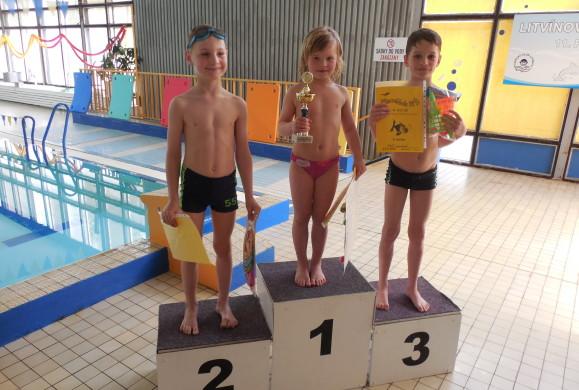 Plavecká štafeta škol a soutěž Plaváček