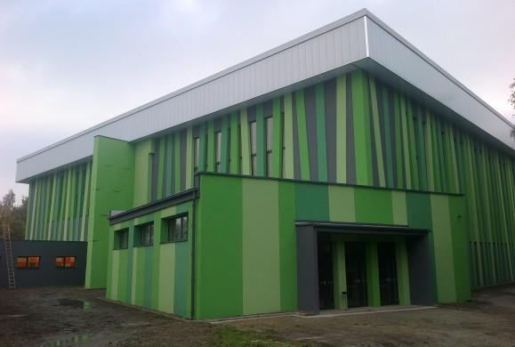 Sportovní hala Litvínov – realizace úspor energie