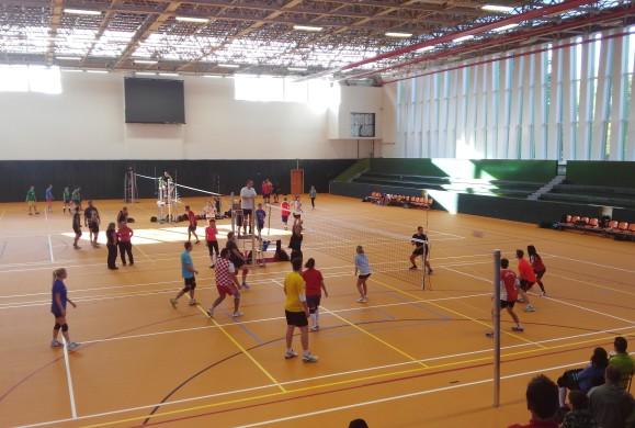 Revitalizace vnitřních prostor sportovní haly v Litvínově
