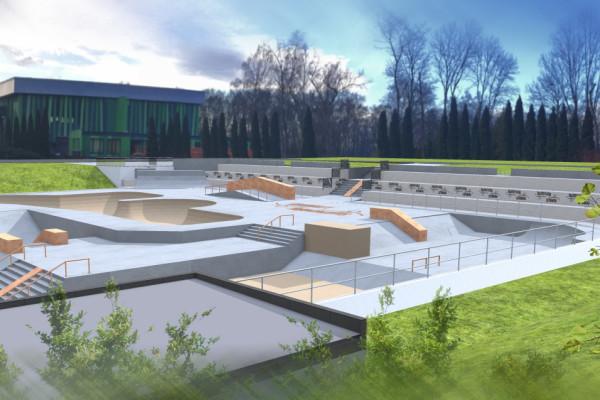 Skatepark vizualizace